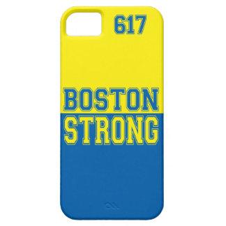 Estilo gráfico fuerte de Boston iPhone 5 Fundas