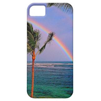 Estilo hawaiano de la hawaiana iPhone 5 funda