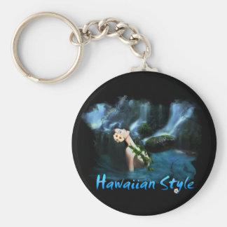 Estilo hawaiano llavero personalizado