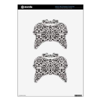Estilo inalámbrico del Barroco del regulador de Mando Xbox 360 Calcomanía