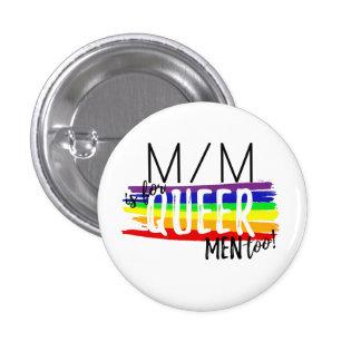 Estilo inclusivo 2 del botón de M/M Pin Redondo De 1 Pulgada