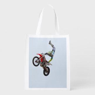 Estilo libre del motocrós bolsa reutilizable