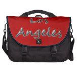 Estilo Los Ángeles de la playa - en rojo Bolsas De Portatil