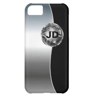 Estilo masculino del caso para hombre del iPhone 5