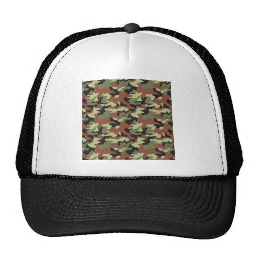 estilo militar gorras de camionero