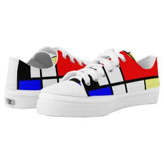 Estilo Neo-plasticism de Mondrian Zapatillas