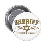 Estilo occidental del sheriff pin