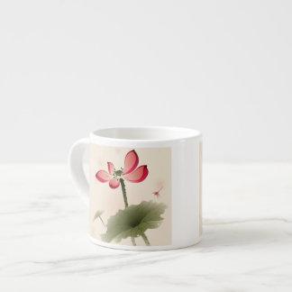 Estilo oriental Lotus Taza Espresso