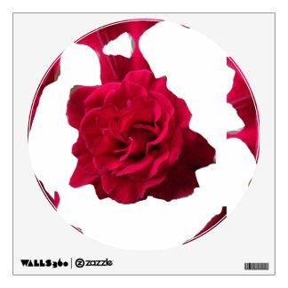 Estilo oscuro del metal del rosa rojo vinilo adhesivo