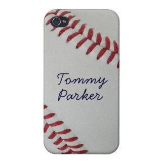 Estilo perfecto del _autograph de Fan-tastic_pitch iPhone 4 Protectores