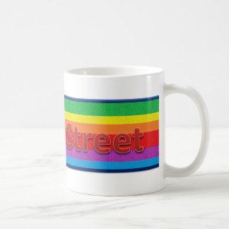 Estilo regente 3 de la calle taza de café