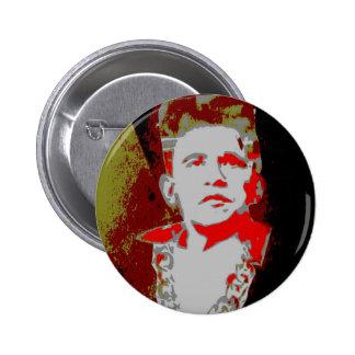 Estilo retro 2 de Obama Pin Redondo 5 Cm