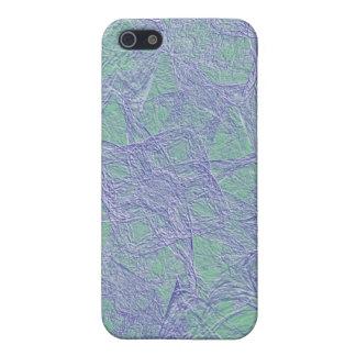 estilo retro del fondo abstracto del caso del iPho iPhone 5 Funda