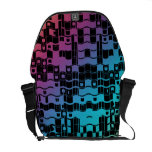 estilo retro enrrollado bolsas de mensajeria