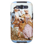 Estilo romántico de Marie Antonieta de los pares Galaxy S3 Carcasa