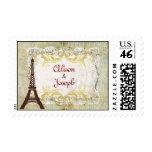 Estilo romántico del vintage de París
