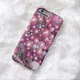 Estilo rosado de Bling Funda Para iPhone 6 Barely There