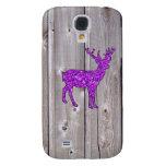 Estilo rústico de los ciervos púrpuras femeninos d