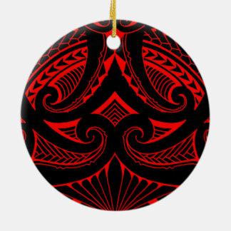Estilo samoano tribal del diseño SBW del tatuaje