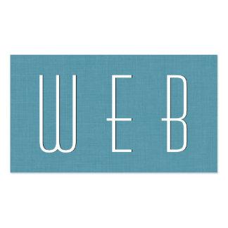 Estilo simple V39L del DISEÑADOR del WEB de la Tarjetas De Visita