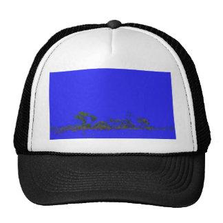 estilo trasero del bosquejo del árbol del azul
