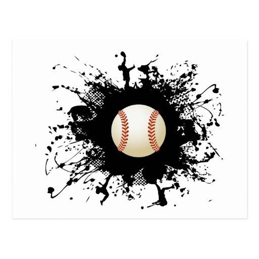 Estilo urbano del béisbol postal