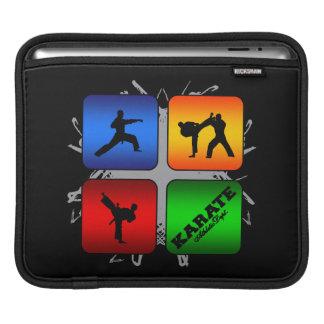 Estilo urbano del karate asombroso mangas de iPad
