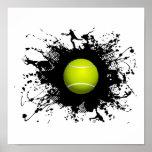 Estilo urbano del tenis impresiones