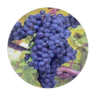 Estilo Uva-Viejo del mundo del vino Tabla Para Cortar