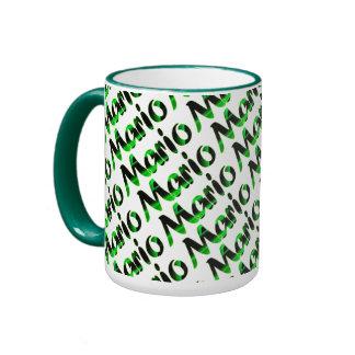 Estilo verde de Mario taza del campanero de 15