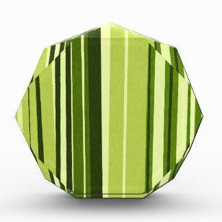Estilo verde del bambú de las rayas