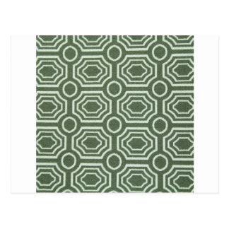 Estilos antiguos frescos del diseño del verde mare tarjetas postales