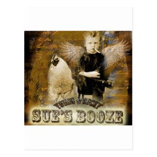 Estilos de los licores de Sue del amor de los Tarjetas Postales