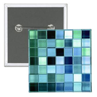 Estilos del mosaico de Aquamarin diversos del ~ de Pin