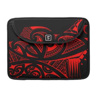 Estilos del tatuaje, maorí mezclados, samoano y funda para macbooks