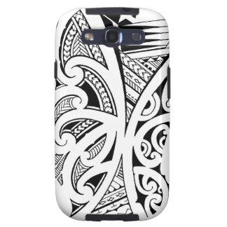 Estilos del tatuaje, maorí mezclados, samoano y po galaxy s3 protector