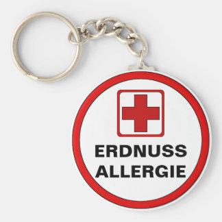 Estima - CACAHUETE alergia Llavero