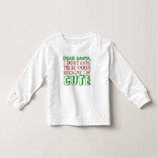 Estimada camiseta del navidad de Santa Playera