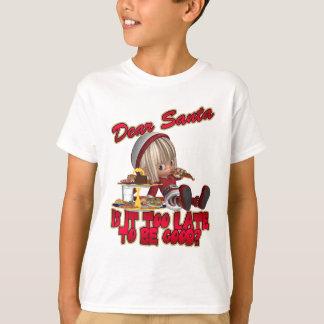 Estimada camiseta traviesa de la camiseta del