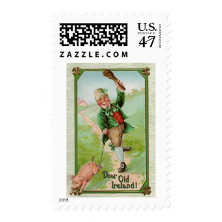 ¡Estimada Irlanda vieja! El día de St Patrick del Sellos Postales