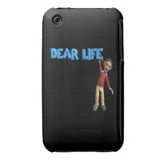 Estimada Life Case-Mate iPhone 3 Cárcasa