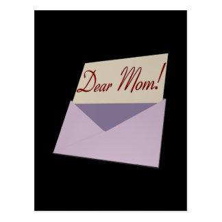 Estimada mamá tarjeta postal