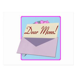 Estimada mamá tarjetas postales