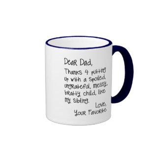 Estimada taza del papá