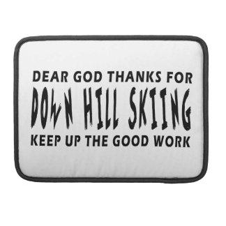 Estimadas gracias de dios por abajo el esquí de la fundas para macbook pro