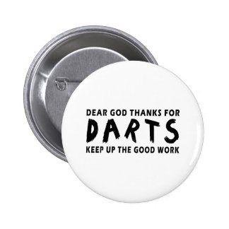 Estimadas gracias de dios por dardos pin
