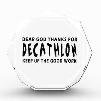 Estimadas gracias de dios por Decathlon