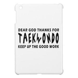 Estimadas gracias de dios por el Taekwondo iPad Mini Funda