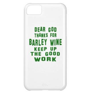 Estimadas gracias de dios por el vino de cebada funda para iPhone 5C