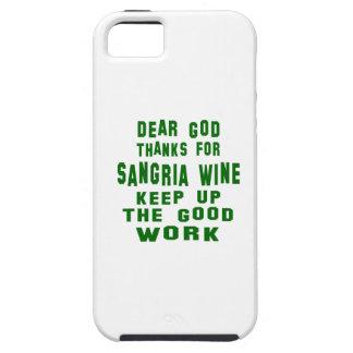 Estimadas gracias de dios por el vino de la funda para iPhone 5 tough